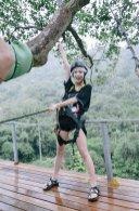 Blackpink Jisoo Ziplining Thailand 3