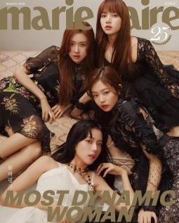Blackpink Marie Claire Korea 2018