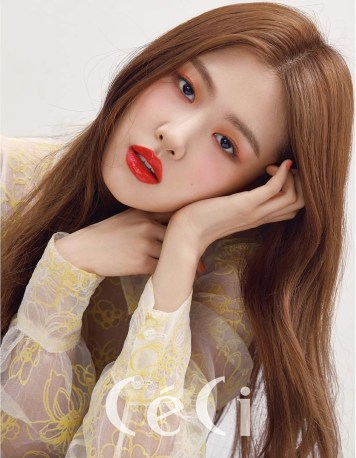 Blackpink Rose Ceci Korea Magazine March 2018 Issue