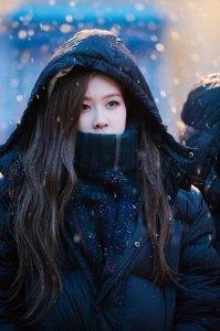 Blackpink Rose Winter Outfit Everland