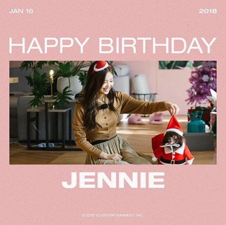 Blackpink Jennie Birthday January 16 2018