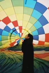 Blackpink-Jennie-Instagram-Photo-2018-Jeju-Island-hot-air-balloon