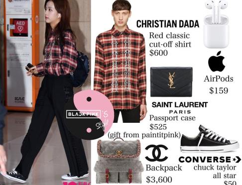 Blackpink-Jisoo-Airport-Fashion-Outfit