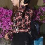 Blackpink Jisoo airport fashion March 12, 2018