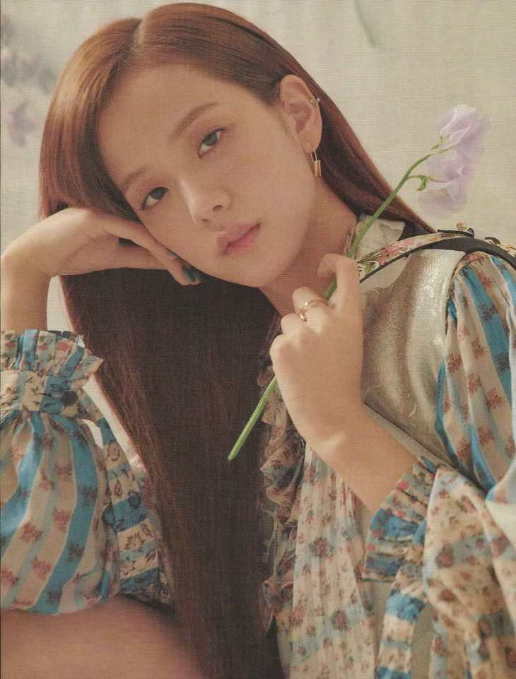 Blackpink Jisoo ELLE Korea Magazine April 2018