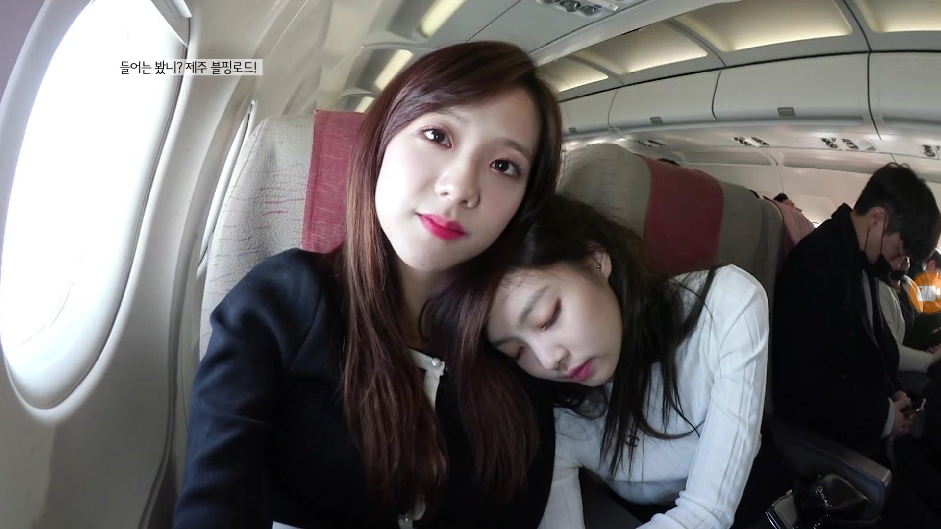 Blackpink Jisoo Jennie Jensoo Sweet Moment Jeju Island 2018