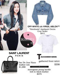 Blackpink Rose Airport Fashion 25 March 2018 Jeju Island