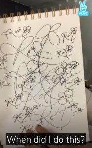 Blackpink-Rose-Autograph