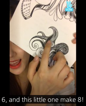 Blackpink Rose Drawing