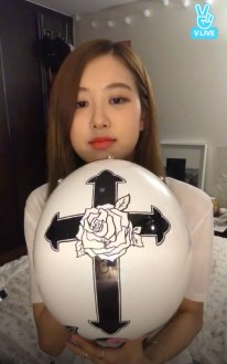 Blackpink Rose drawing Boombayah Helmet