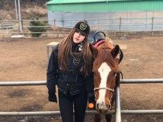 Blackpink-Rose-Instagram-2018-horse-riding-Jeju