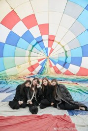 Weibo Blackpink Hot Air Balloon Jeju Island 2