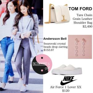 Blackpink Jennie Airport Fashion 25 march 2018