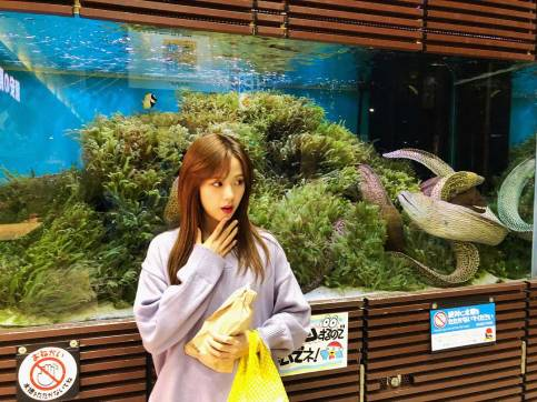 Blackpink-Jisoo-Instagram-Photo-2018-Big-Aquarium-3