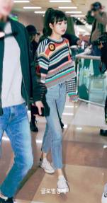 Blackpink Lisa Airport Fashion 1 April 2018