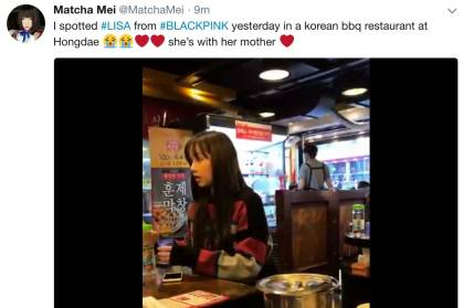 Blackpink-Lisa-BBQ-restaurant