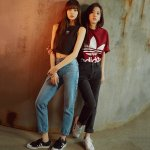 BLACKPINK JISOO LISA ADIDAS ORIGINALS