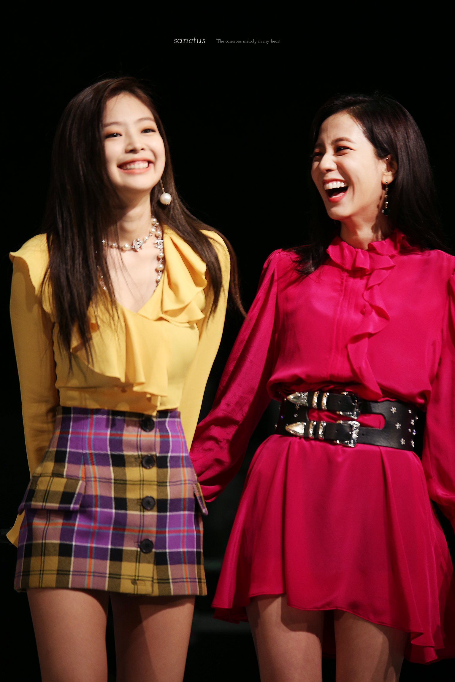 Blackpink Jisoo Jennie Jensoo Myongji University Festival 2018 Photo