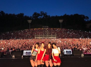 blackpink Korea university festival ipselenti 2018 photo 2