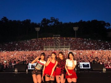 blackpink Korea university festival ipselenti 2018 photo