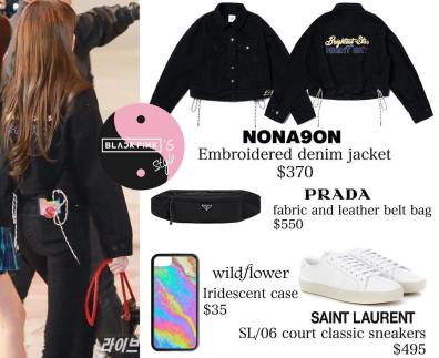 Blackpink Lisa Airport Fashion 20 April 2018