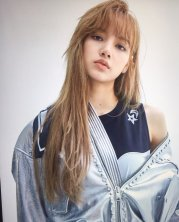 Blackpink Lisa Nonagon Lookbook Shooting 2018 photo