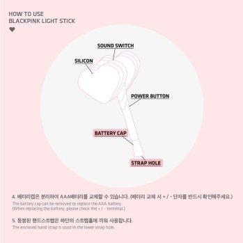 Blackpink Official LightStick Details