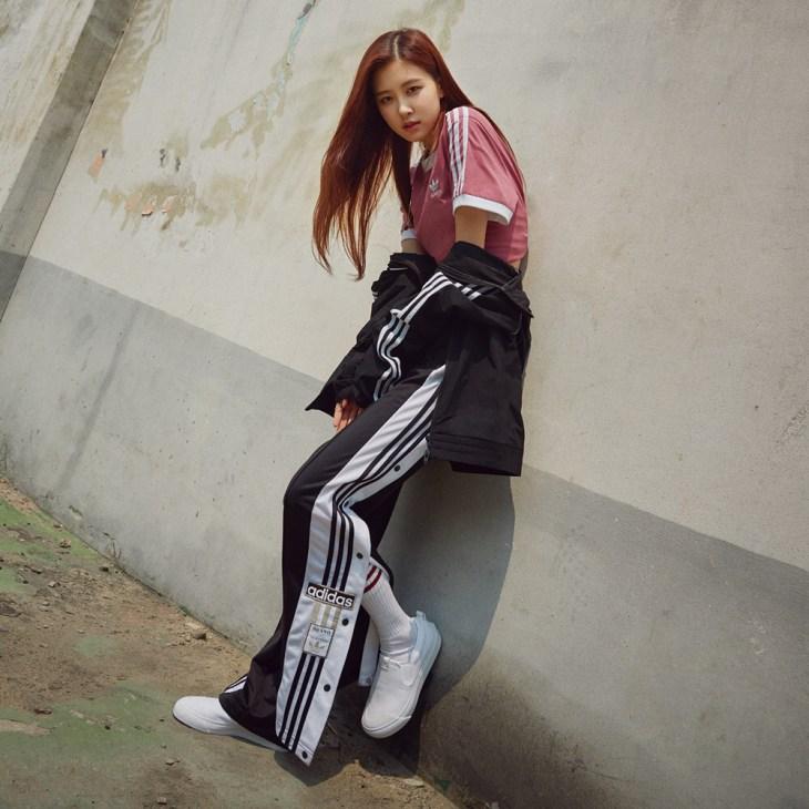 BLACKPINK ROSE ADIDAS ORIGINALS KOREA