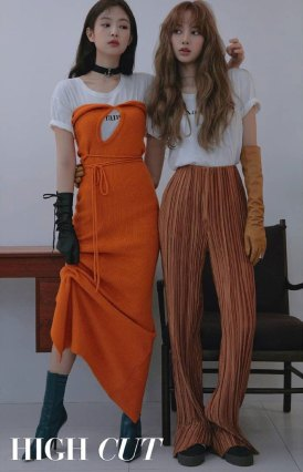 BLACKPINK-Jennie-Lisa-HIGH-CUT-Magazine-Photoshoot-HQ