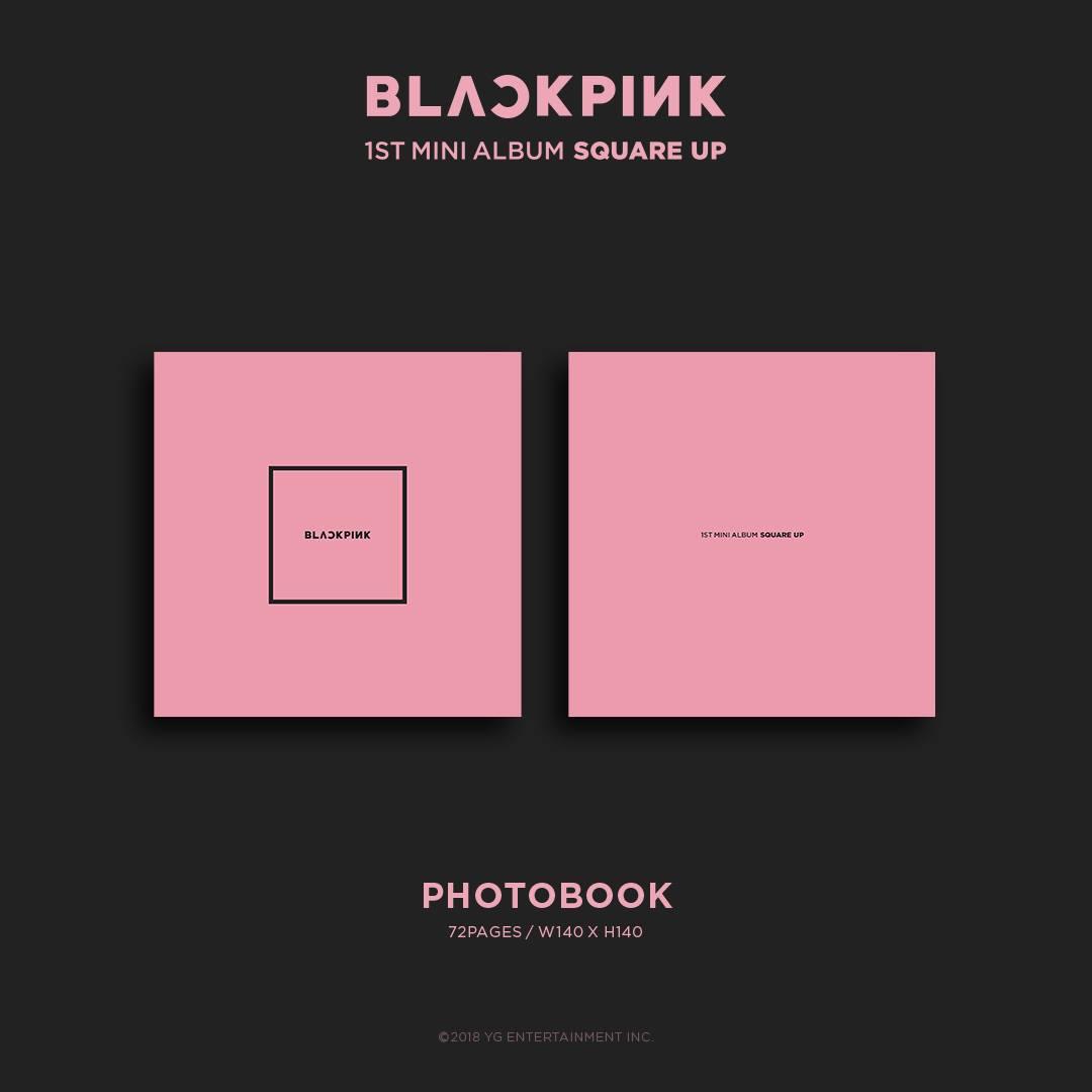 BLACKPINK Album Square Up Photos and Details Contents Pink Version