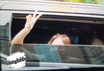 BLACKPINK Jennie Car Photos Leaving Inkigayo 17 June 2018 photo 14