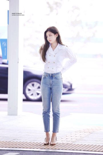 Blackpink Jennie Incheon Airport France paris