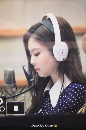 BLACKPINK Jennie KBS Cool FM Volume Up Photo 13
