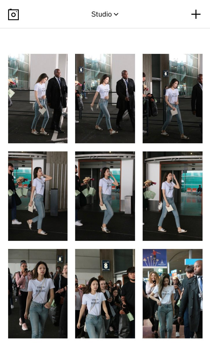 Blackpink Jennie Paris Airport France Chanel Event 2018