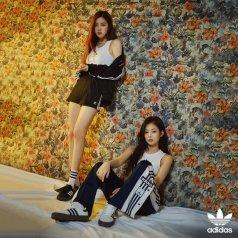 Blackpink Jennie Rose adidas sambarose 2
