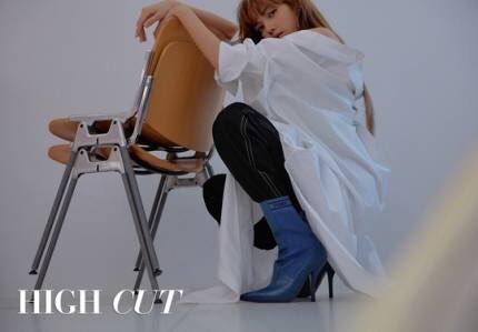 BLACKPINK Lisa HIGH CUT Magazine Korea 2018 scan