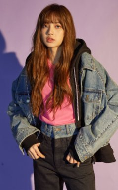 BLACKPINK Lisa NONAGON - FW 2018 MODXXXXXX lookbook photo 15