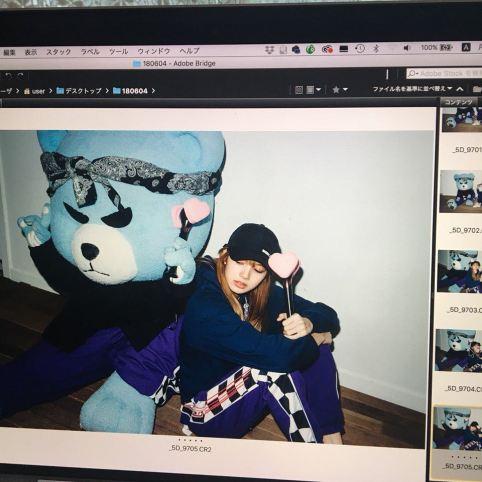BLACKPINK Lisa Nonagon x girl Photoshoot 6