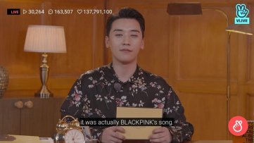 BIGBANG Seungri Title Track 1 2 3 supposed to be BLACKPINK Song rose recorded 5