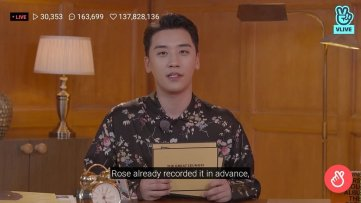 BIGBANG Seungri Title Track 1 2 3 supposed to be BLACKPINK Song rose recorded 6