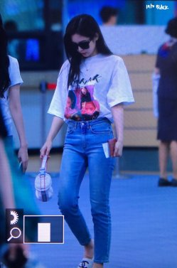 BLACKPINK Jennie Airport Photo 26 July 2018 Gimpo 10