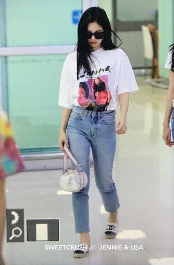 BLACKPINK Jennie Airport Photo 26 July 2018 Gimpo 23