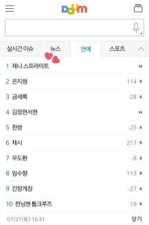BLACKPINK Jennie Sprite Trending Daum Entertainment