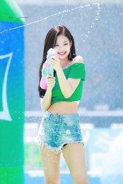 BLACKPINK Jennie Sprite Waterbomb Festival Seoul 116