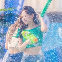 BLACKPINK Jennie Sprite Waterbomb Festival Seoul 122
