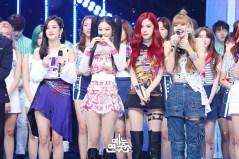 BLACKPINK Jisoo Jennie Rose Lisa MBC Music Core 7 July 2018 PD Note 2
