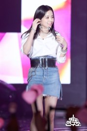 BLACKPINK Jisoo MBC Music Core white outfit 30 June 2018 photo 3