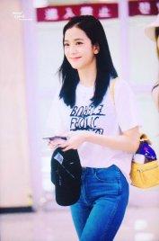 BLACKPINK Jisoo airport fashion 4 july 2018 photo 5