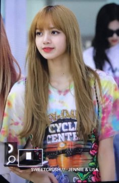 BLACKPINK Lisa Airport Photo 26 July 2018 Gimpo 18