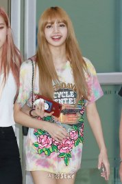 BLACKPINK Lisa Airport Photo 26 July 2018 Gimpo